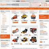 Сайт для магазина Бензоинструменты